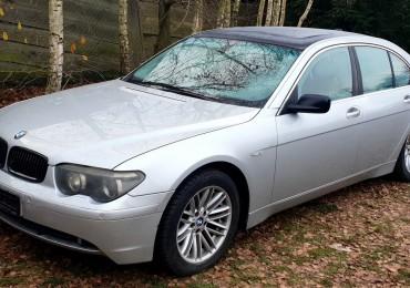 BMW 7 E65/E66 2001-2005, Sedan 4-dw., 730d Automat (218 KM) na części Białystok