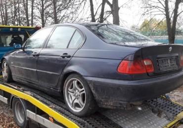 BMW 3 E46 1997-2003, Sedan 4-dw., 320d Manual (136 KM) na części Białystok
