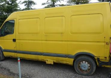 Renault Master wersja II, 2000r. 2.8dti, diesel, dostawczy