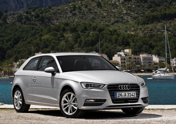 Antena Audi A3 III