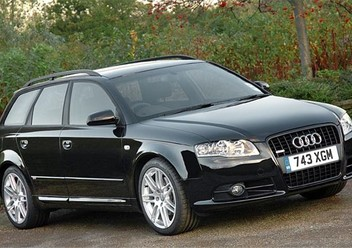 Szczęki hamulcowe przednie Audi A4 B7