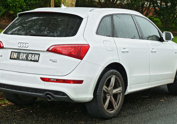 Szczęki hamulcowe przednie Audi Q5