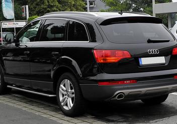 Pokrowce samochodowe Audi Q7