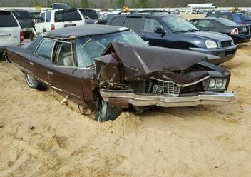 Pokrowce ochronne Chevrolet Impala VIII