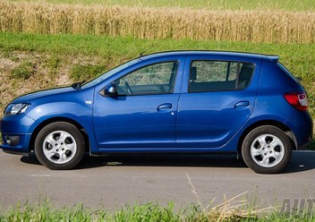 Szczęki hamulcowe przednie Dacia Sandero II