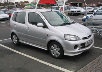 Pokrowce samochodowe Daihatsu YRV