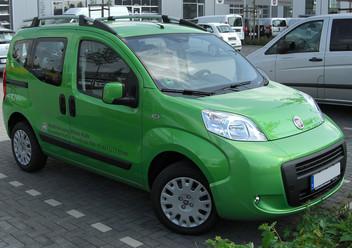 Dywaniki samochodowe Fiat Qubo