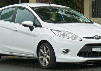 Regulator siły hamowania Ford Fiesta Mk5