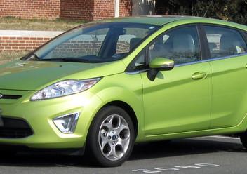 Dywaniki samochodowe Ford Fiesta Mk4