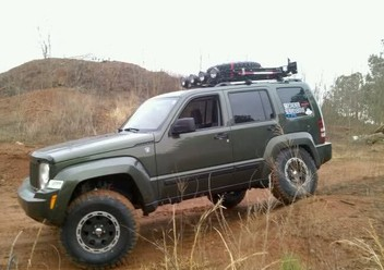 Koszulki fotelowe Jeep Liberty KK