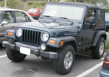 Podręczniki / Literatura / Przeglądy Jeep Wrangler TJ
