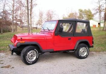 Pokrowce samochodowe Jeep Wrangler YJ