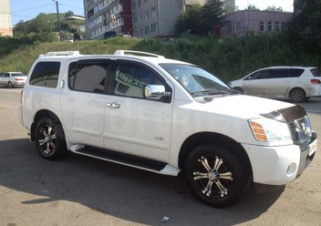 Regulator siły hamowania Nissan Armada
