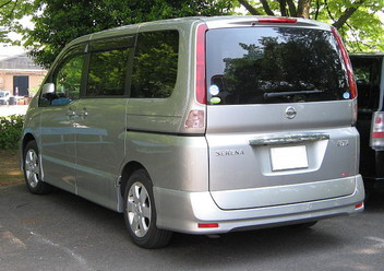 Regulator siły hamowania Nissan Serena