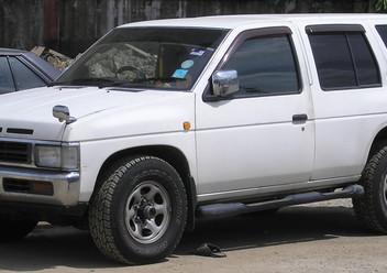 Szczęki hamulcowe przednie Nissan Terrano