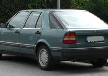 Dywaniki samochodowe Saab 9000
