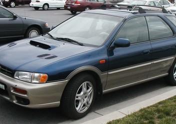 Koszulki fotelowe Subaru Impreza I