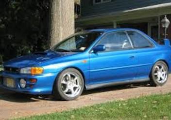 Dywaniki samochodowe Subaru Impreza II FL
