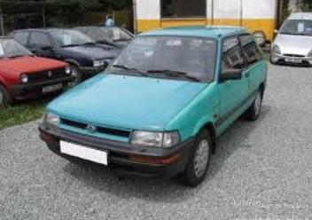 Szczęki hamulcowe przednie Subaru Justy II