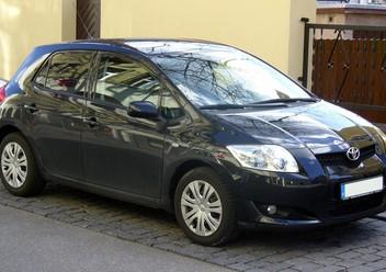 Dywaniki samochodowe Toyota Auris I