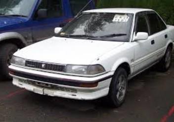 Dywaniki samochodowe Toyota Corolla VI