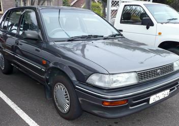 Dywaniki samochodowe Toyota Corolla VII