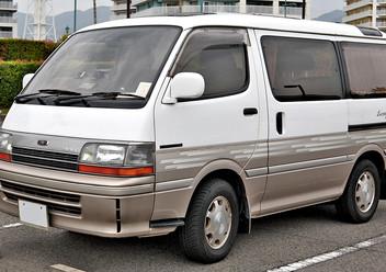 Pokrowce samochodowe Toyota Hiace