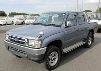 Pokrowce samochodowe Toyota Hilux VI