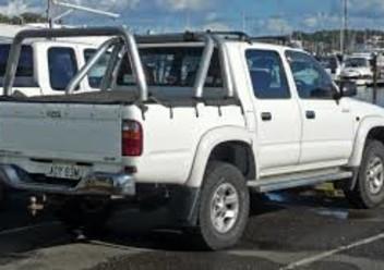 Dywaniki samochodowe Toyota Hilux VII