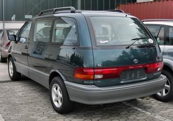 Dywaniki samochodowe Toyota Previa I