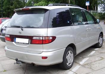 Podręczniki / Literatura / Przeglądy Toyota Previa II