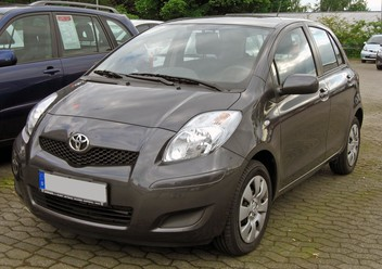 Pokrowce ochronne Toyota Yaris II FL