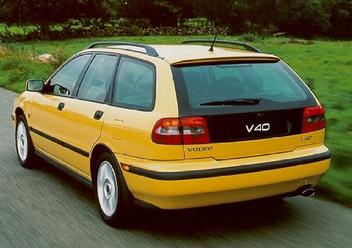 Szczęki hamulcowe przednie Volvo V40